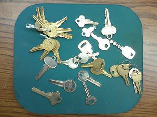 Selection of Keys